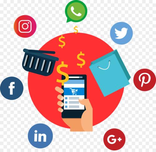 Social selling beeld